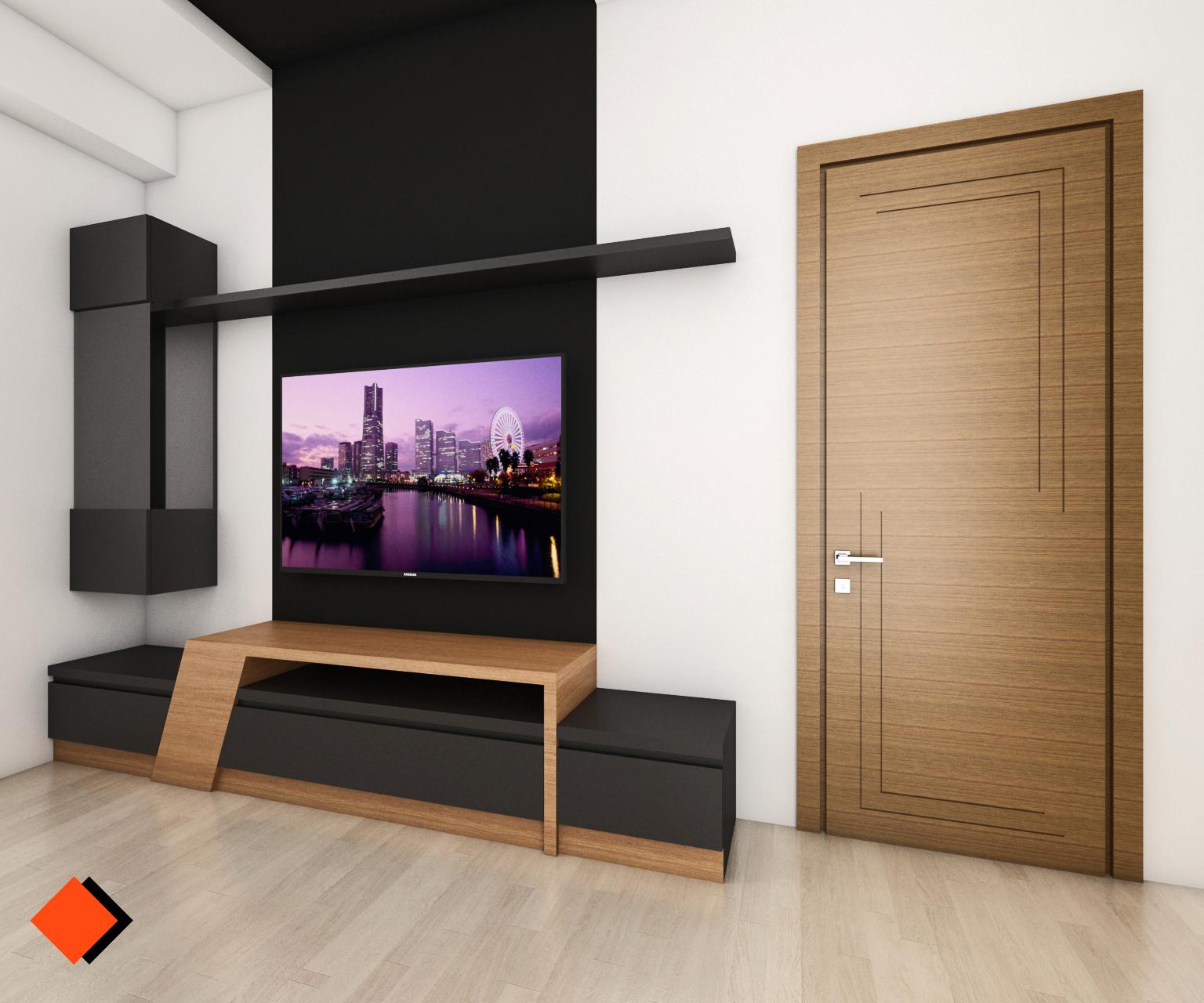 ტელევიზორის კედელი